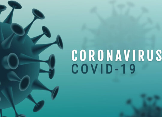 Corona Virus banner illustration - Microbiology And Virology Con